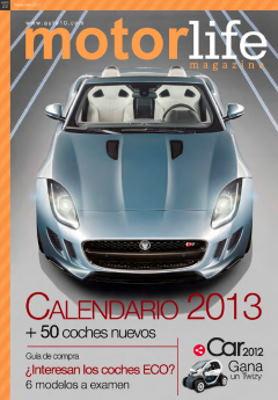 Calendario de novedades para 2013