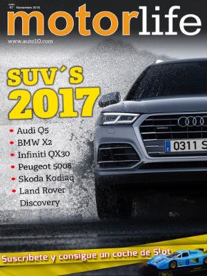 Todos los SUV para 2017