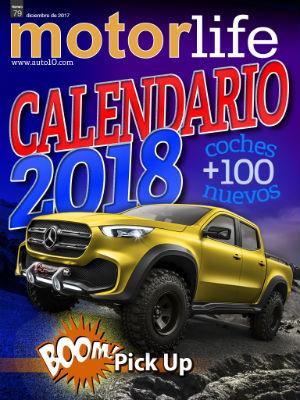 Calendario de coches nuevos 2018